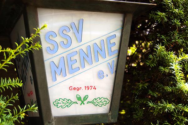SSV Menne eV 1974 Laterne Eingang